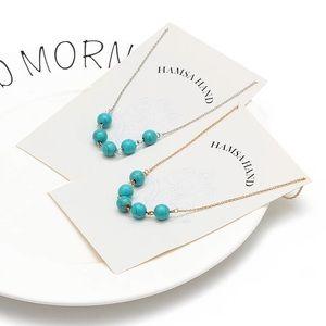 Jewelry - Hamsa hand lucky 🍀 necklace